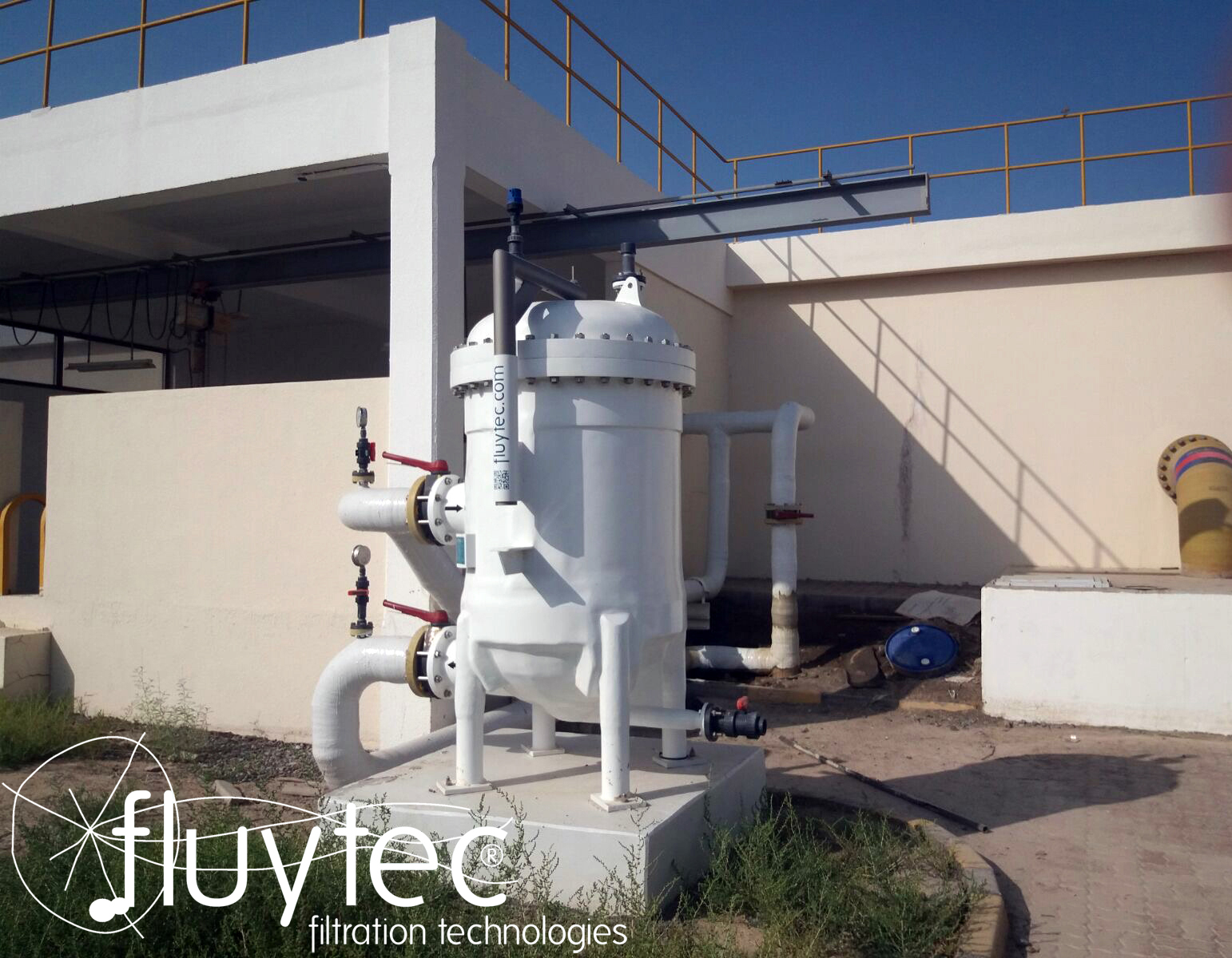 Fluytec FRP GRP Housing in OMAN