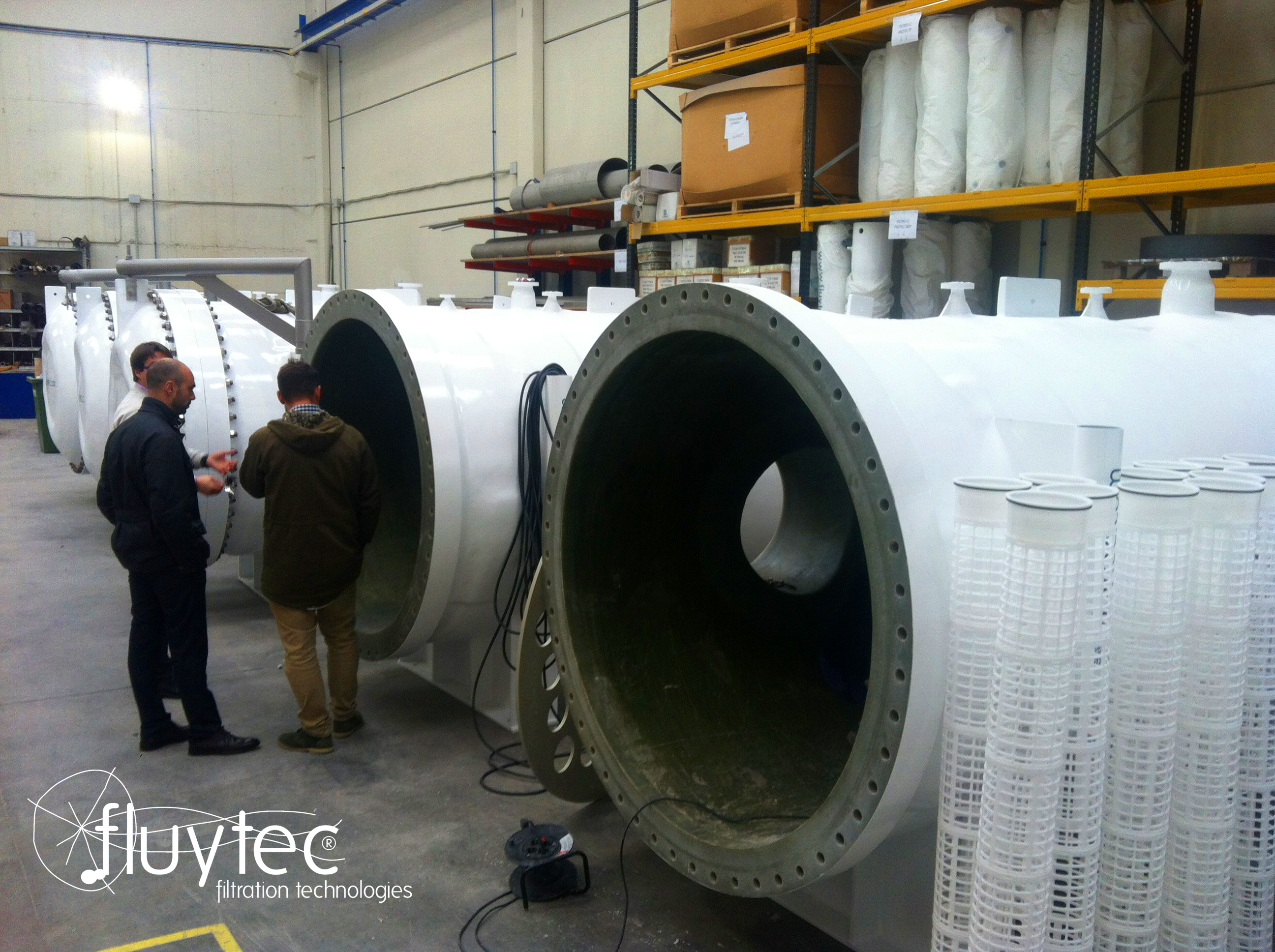 Fluytec High Flow Equipment  31 and 37 HF Elements