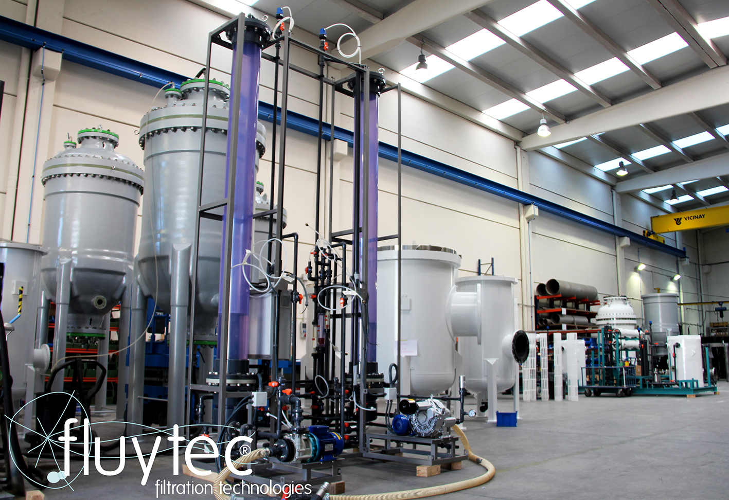 Facilities of Fluytec in Mungia